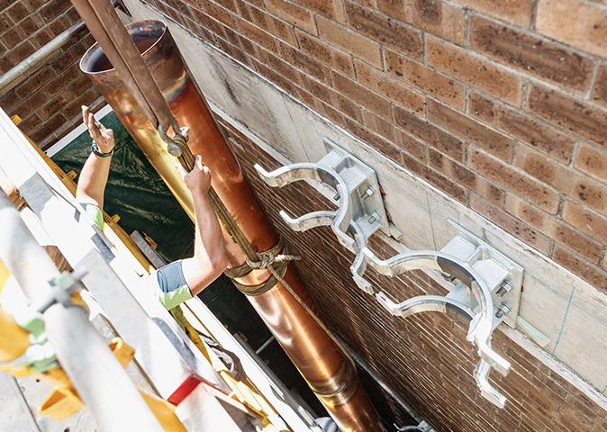 Condenser Water Pipework Replacement