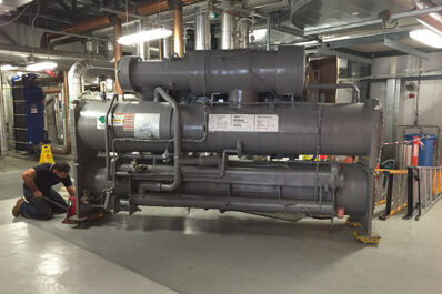 Installation of Light Load Chiller